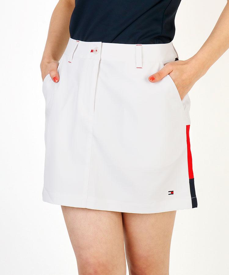 TH アシメSIDEフラッグモチーフLINEスカート