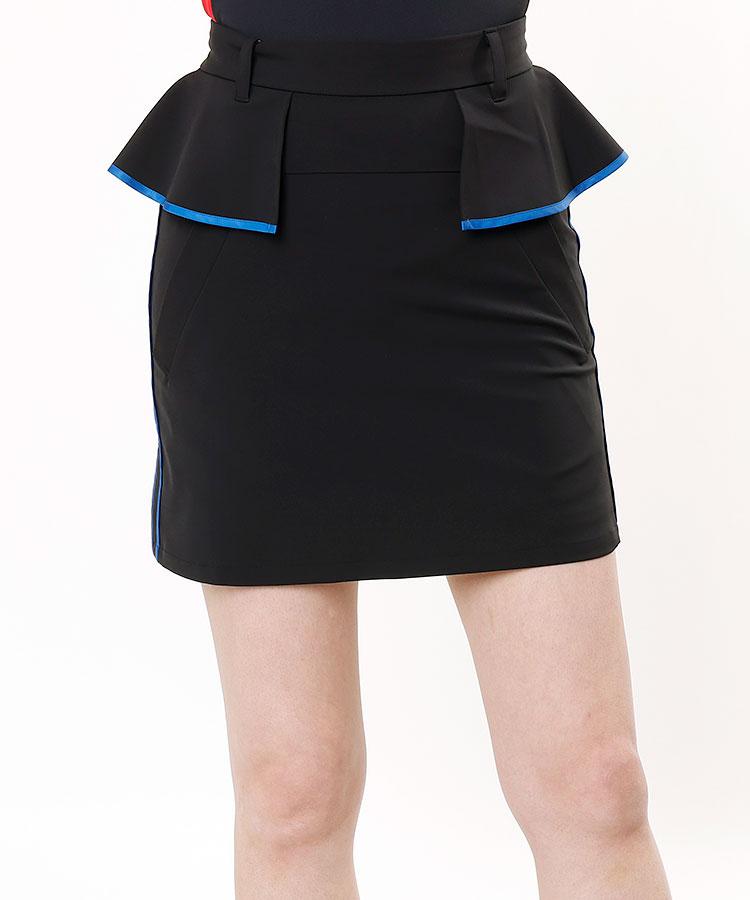 ML Elegant♪ティアード風ウェストSIDEラインスカート