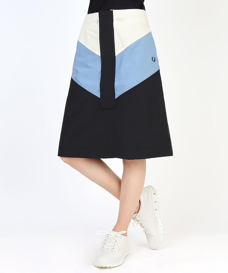 FP シェブロン◆ミドル丈スカート