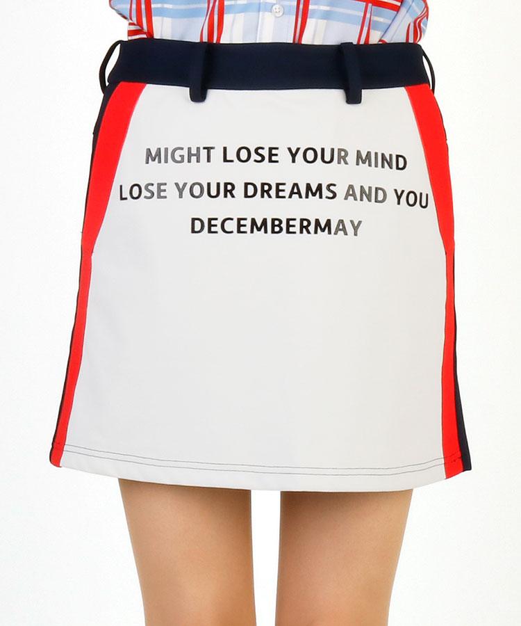 DM 前後切替&サイドLINEスカート