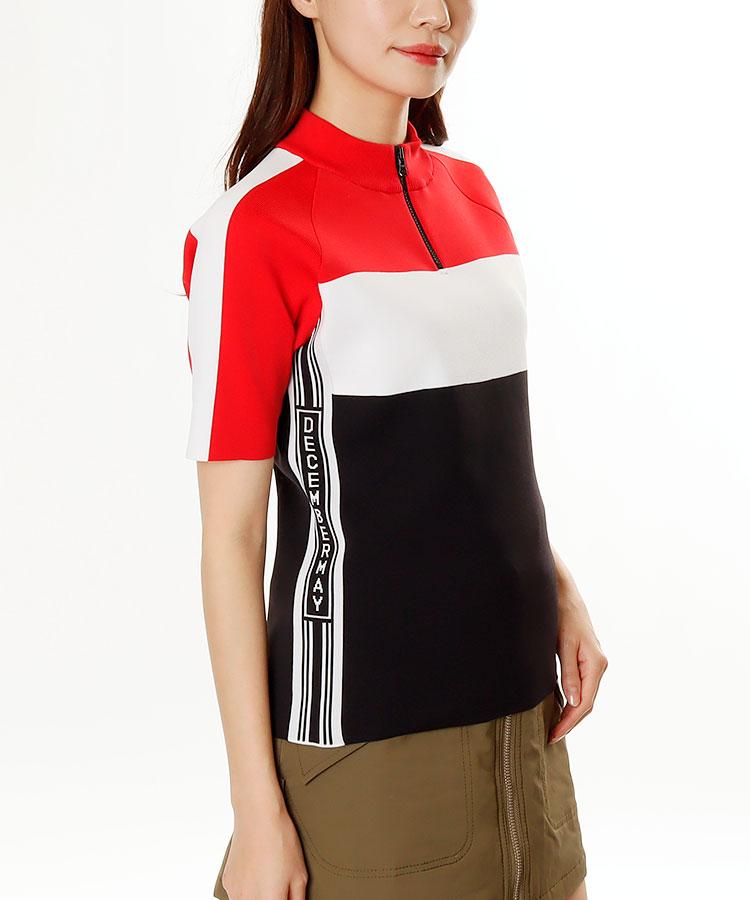 DM SIDEロゴライン★ハイネックセーター