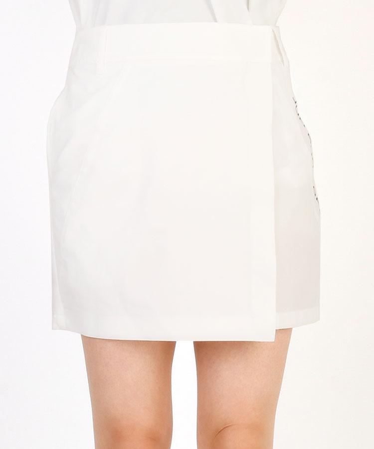 JR ロゴプリント◆ラップ風スカート