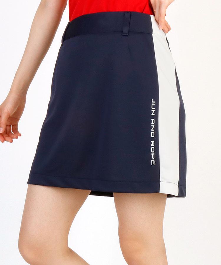 JR アシメWIDEサイドLINE◆Aラインスカート