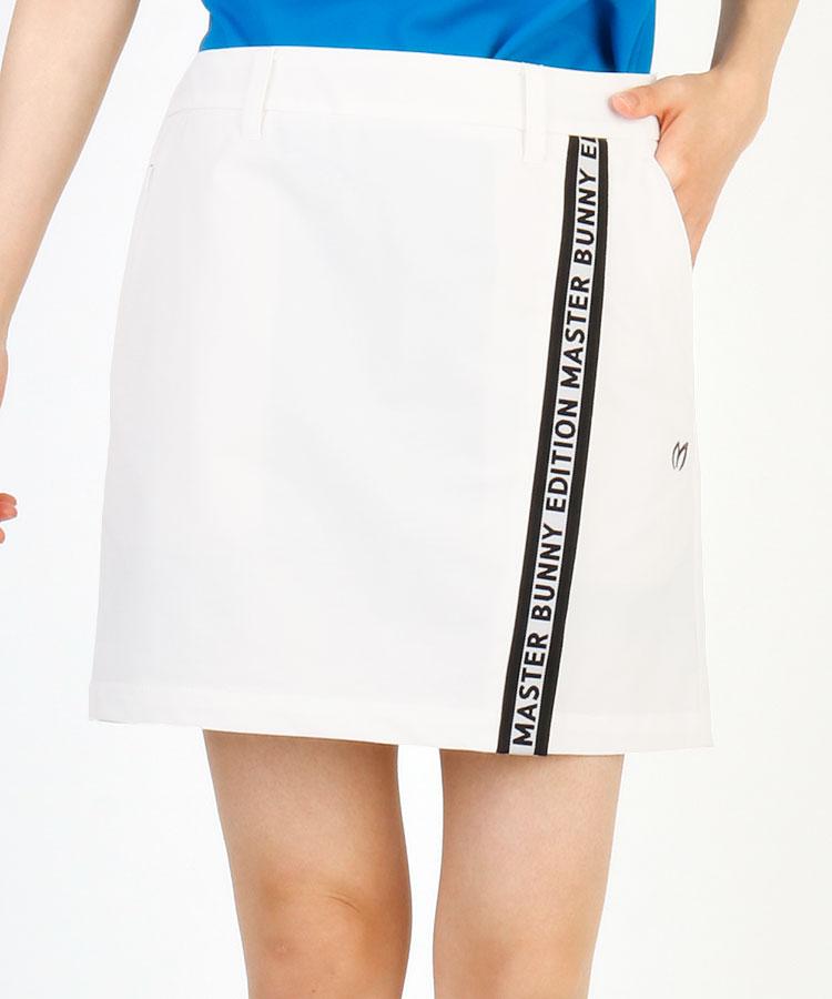 MB ロゴテープ◆ラップ風スカート