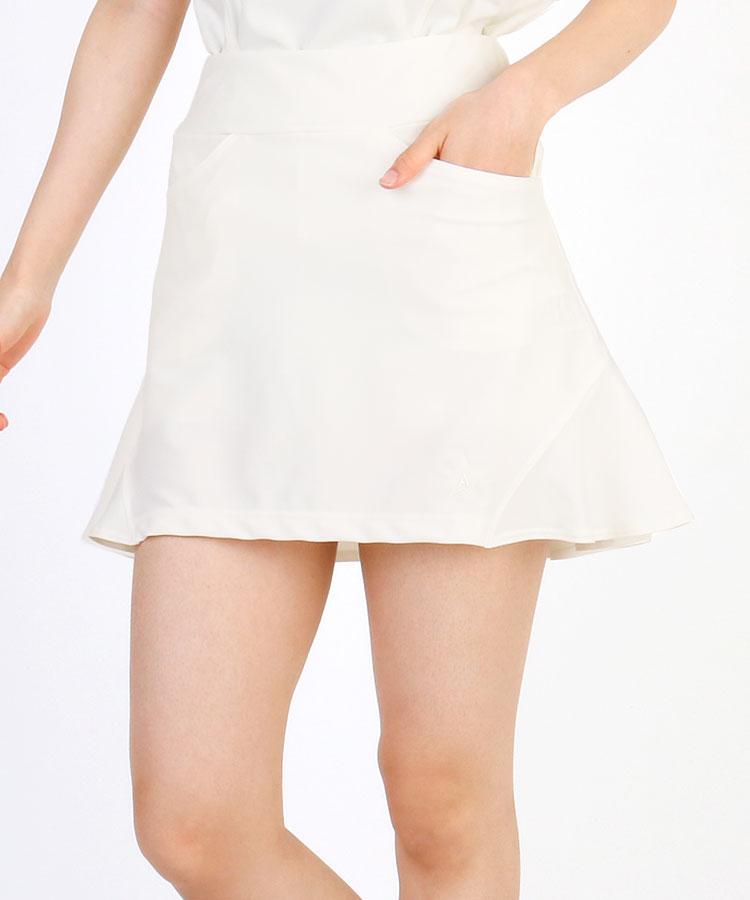 AI 切替フリル★ペチ付きスカート