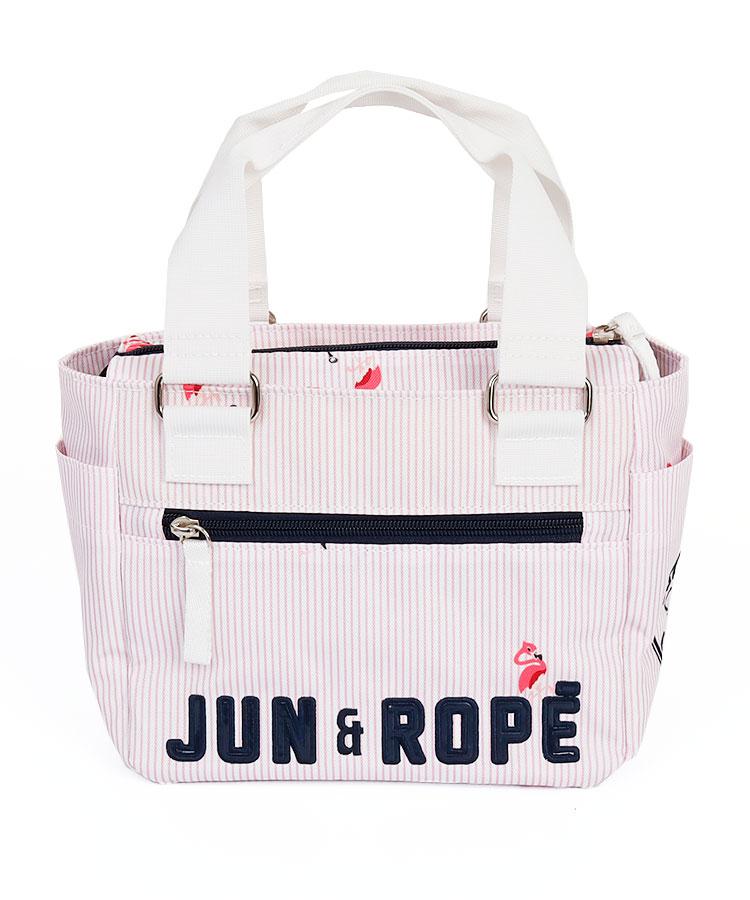 JR Stripeフラミンゴドット◆カートバッグ