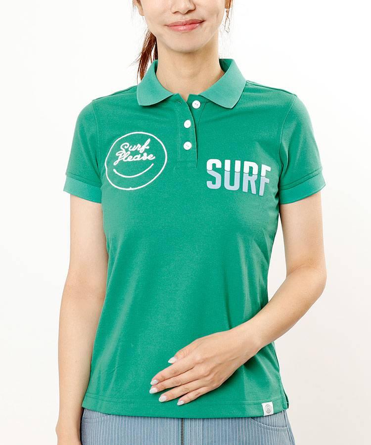 HO SURF◆半袖ポロ