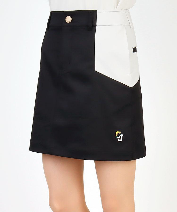 CJ BLOCKカラー配色◆台形スカート