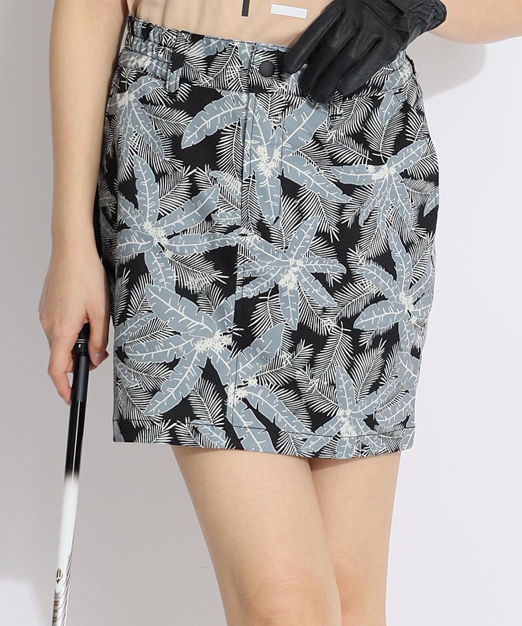 SD ボタニカル柄♪スカート