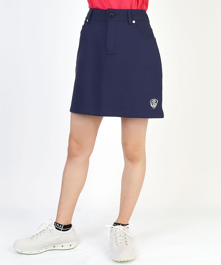 DL HIPマルチICON刺繍入◆Stretchスカート