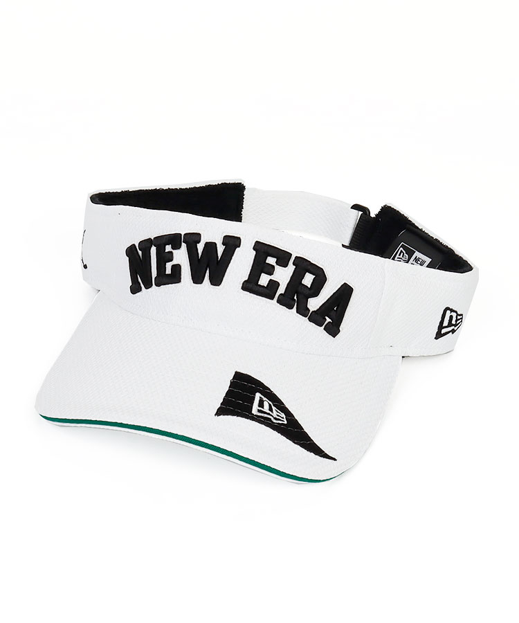NE Flag風ロゴ刺繍◆シンプルバイザー