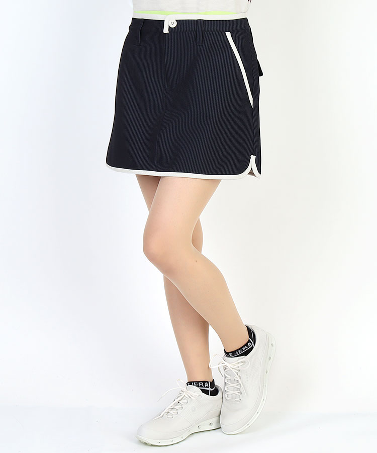 JB Stripeサッカー地◆ハイテンションスカート