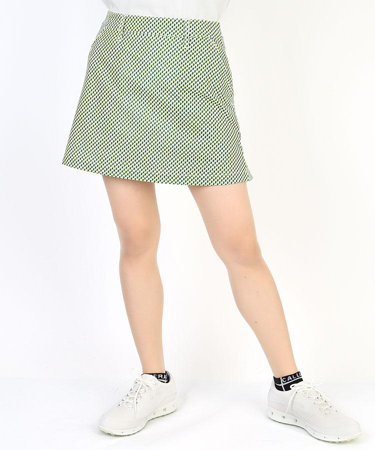 JB COOL&STRETCH★ドット柄スカート