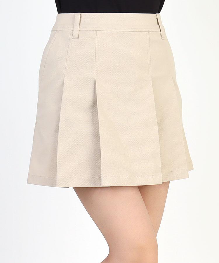 SA シンプル★STRETCHプリーツスカート