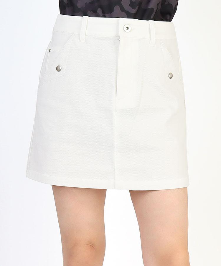 SA ストレッチ★BASICピケスカート