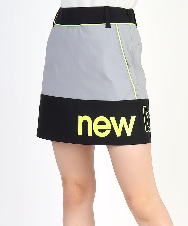 NB 裾ロゴPrint◆台形スカート
