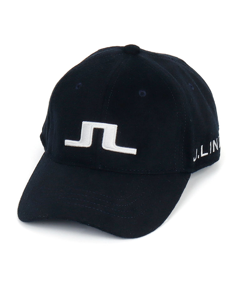 JL フェルト調♪ロゴ刺繍キャップ