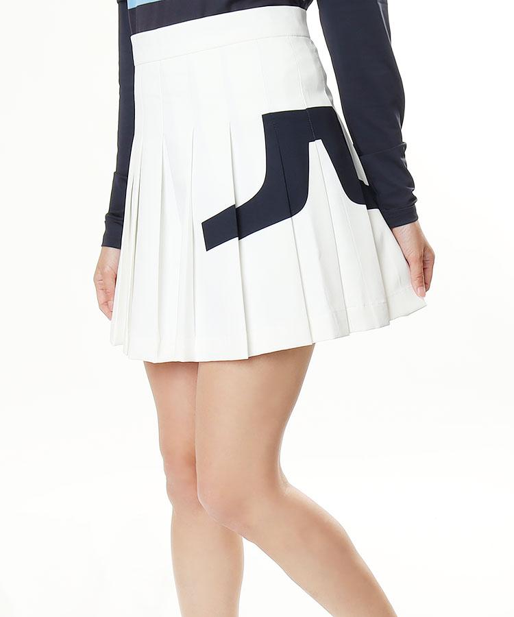 JL サイドロゴ♪STRETCHプリーツスカート