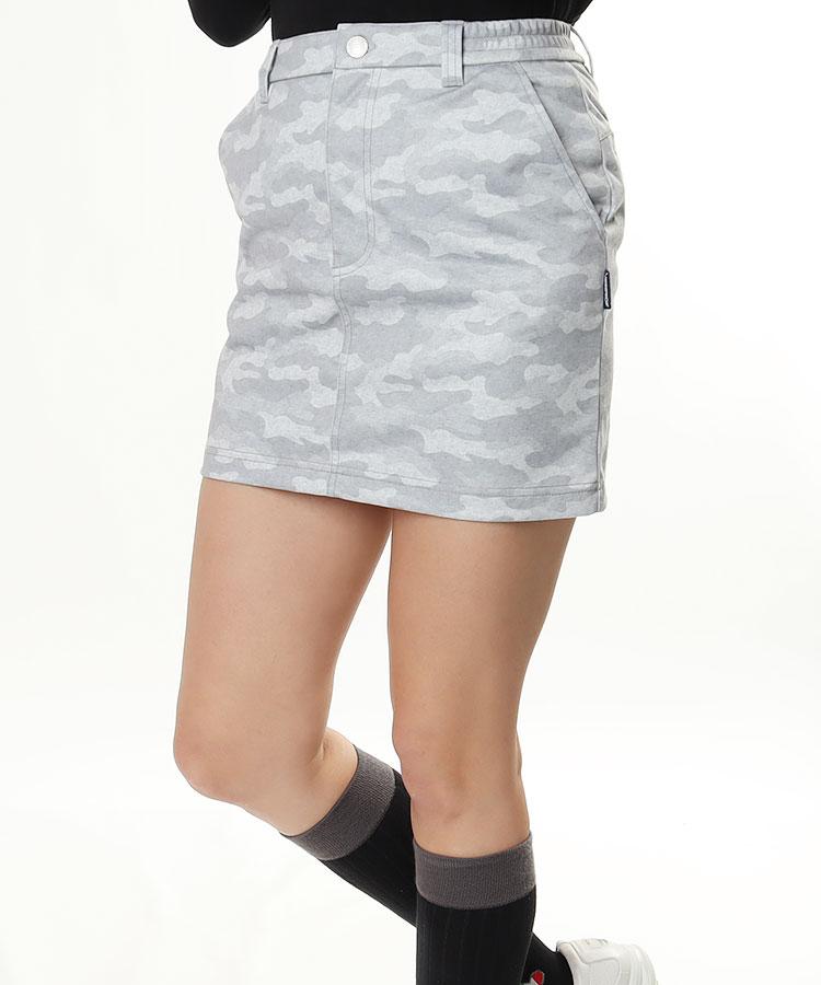 RO 防風・撥水◆カモフラスカート