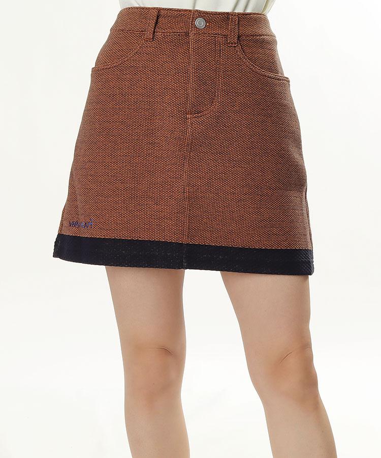 VH 配色★ツイード調スカート