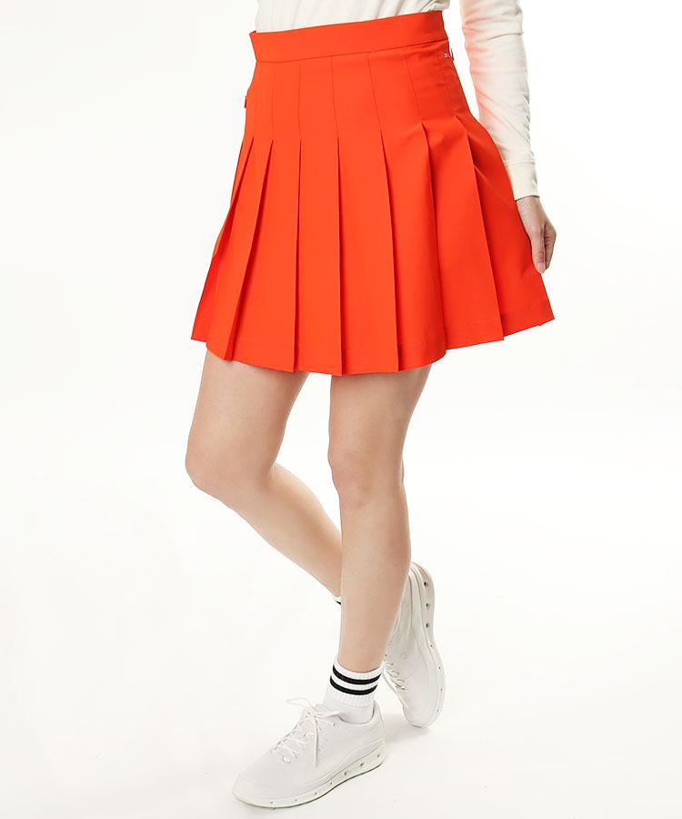 JL simpleデザイン♪ストレッチプリーツスカート