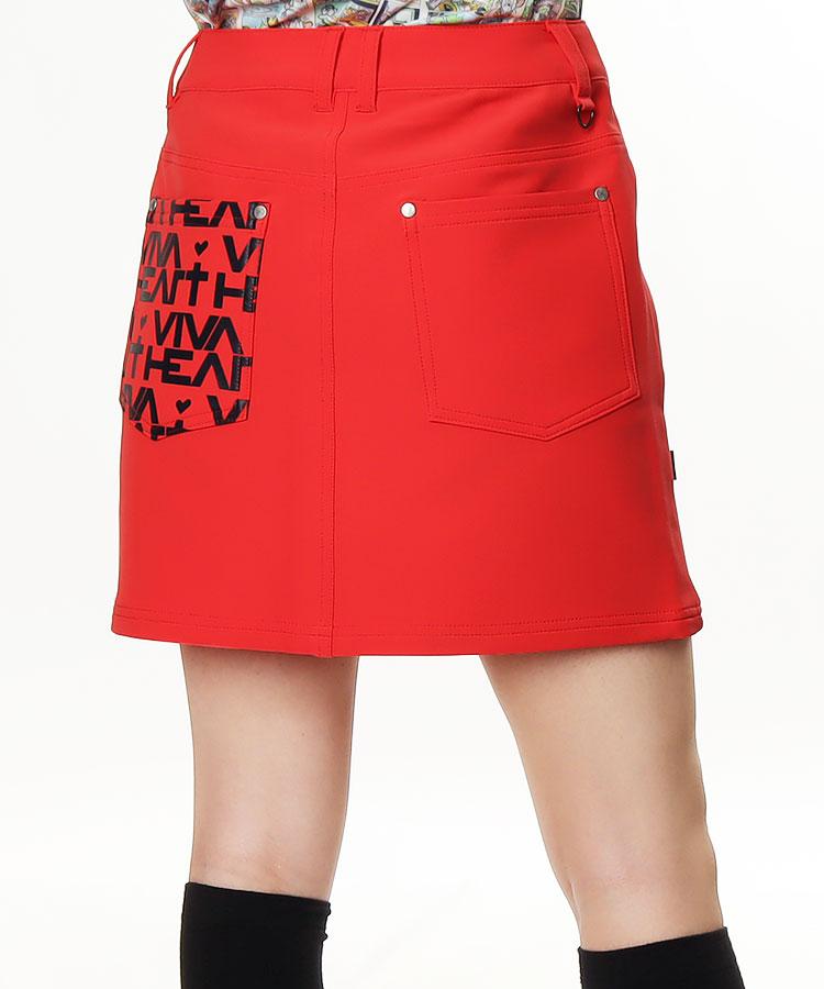 VH アシメPocketロゴ★4Waystスカート