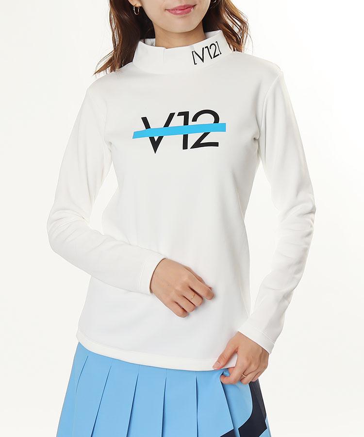 VI 裏フリース◆長袖モックネックカットソー