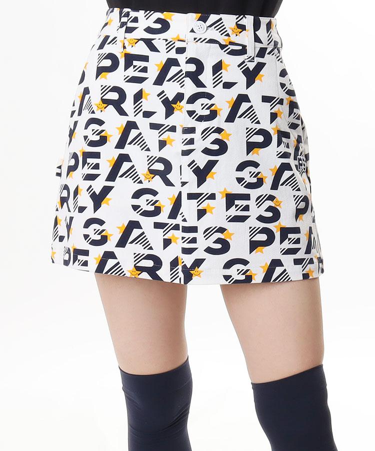 PG ロゴ&STAR★プリントスカート