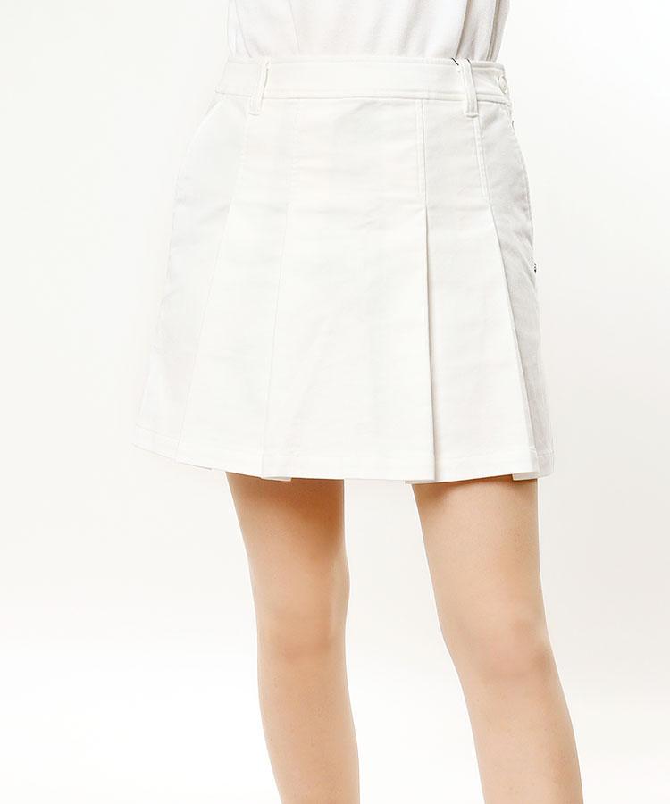 SA スエード起毛◆Frontプリーツスカート