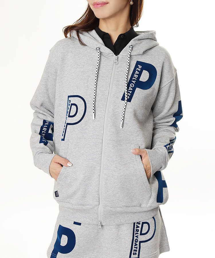 PG 「P」ロゴ◆スウェットパーカー