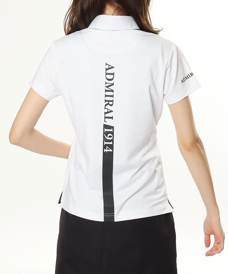AM バックロゴ★半袖ポロ