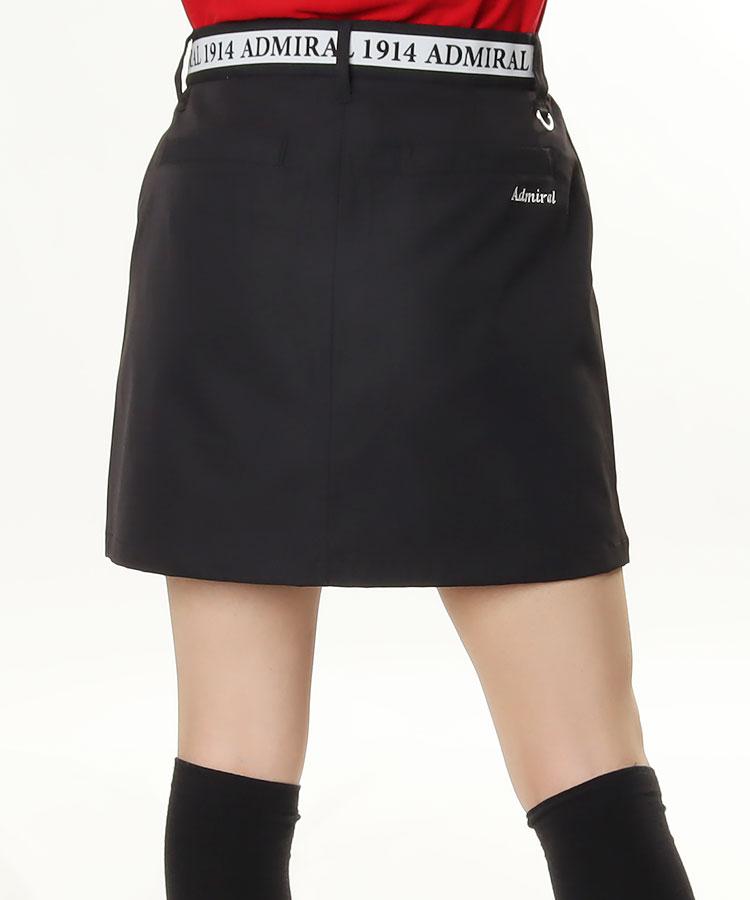 AM ウエストロゴ◆BOXスカート