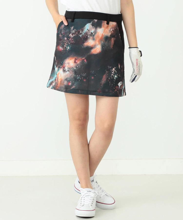 BE 宇宙Print♪スウェットスカート