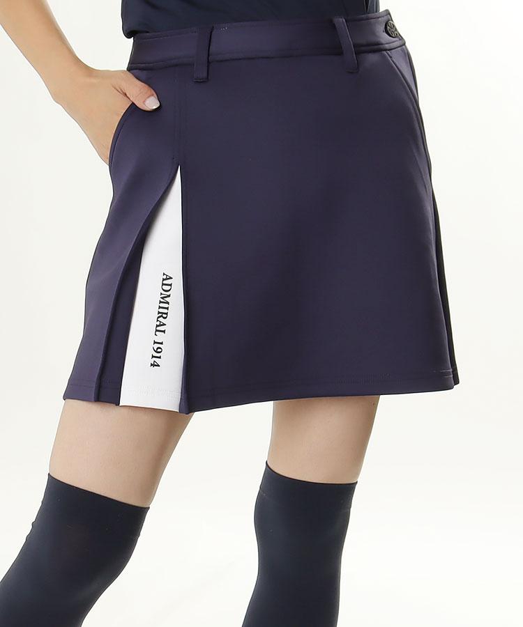 AM ワンプリーツ◆ボックススカート