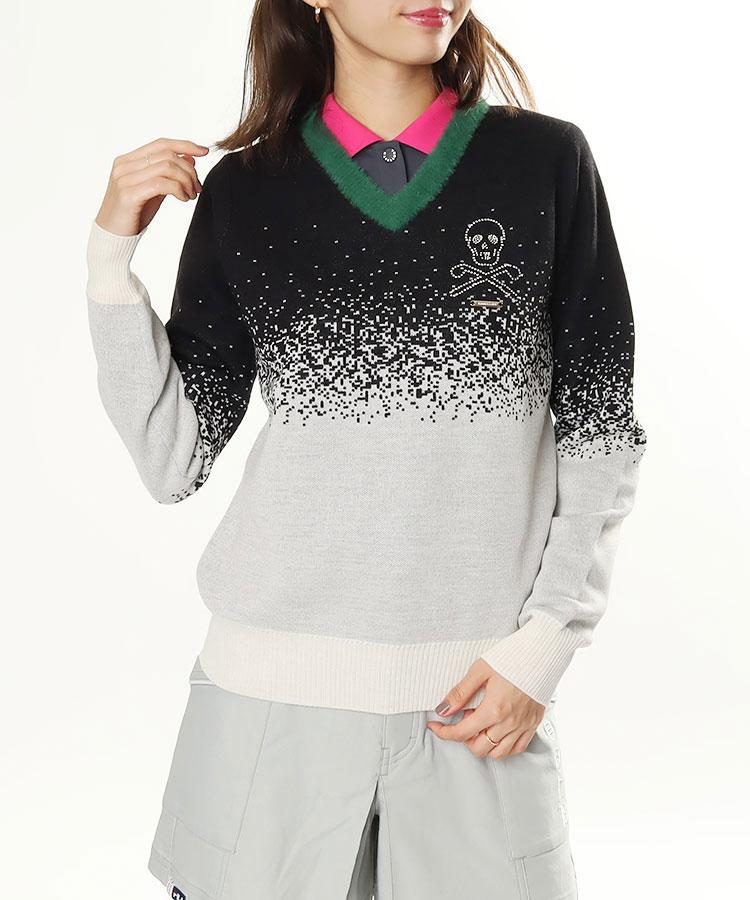 ML 首元ふわふわ♪ニットセーター