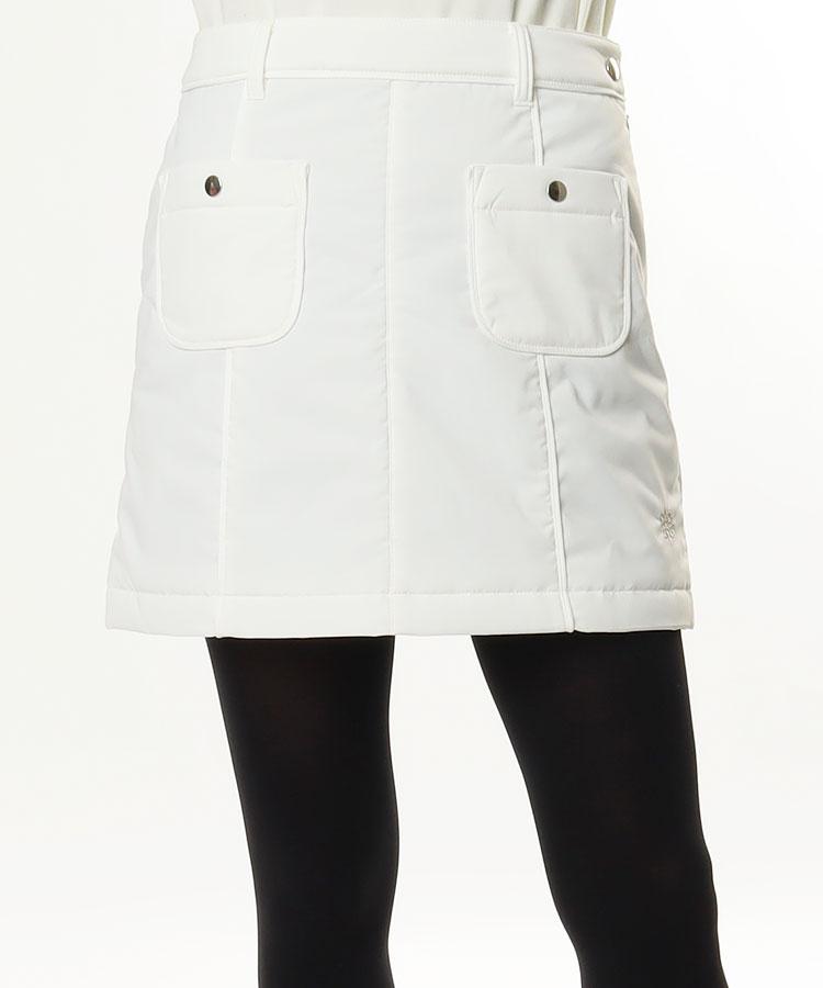 SA BASIC◆中綿キルトスカート