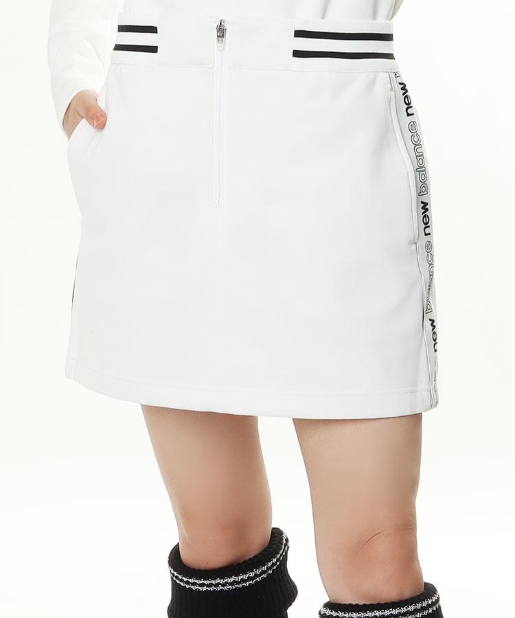 NB サイドロゴテープ◆BOXスカート