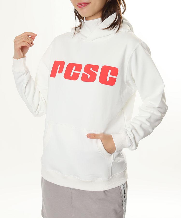 PC PCSCプリント◆フード付きパーカー