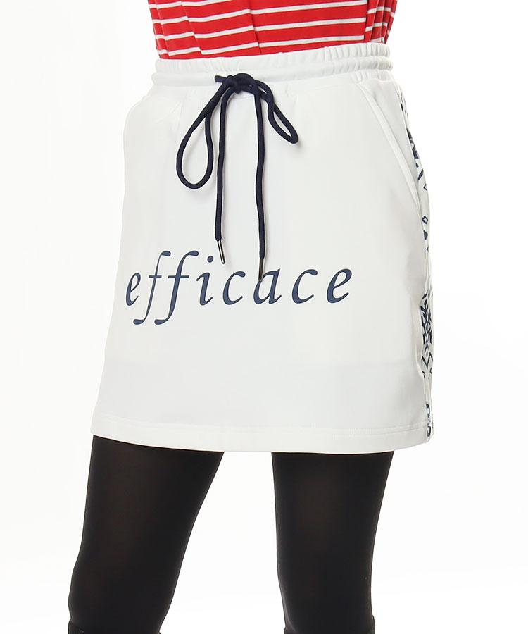 EF ノルディック柄◆一体型ペチ付スカート