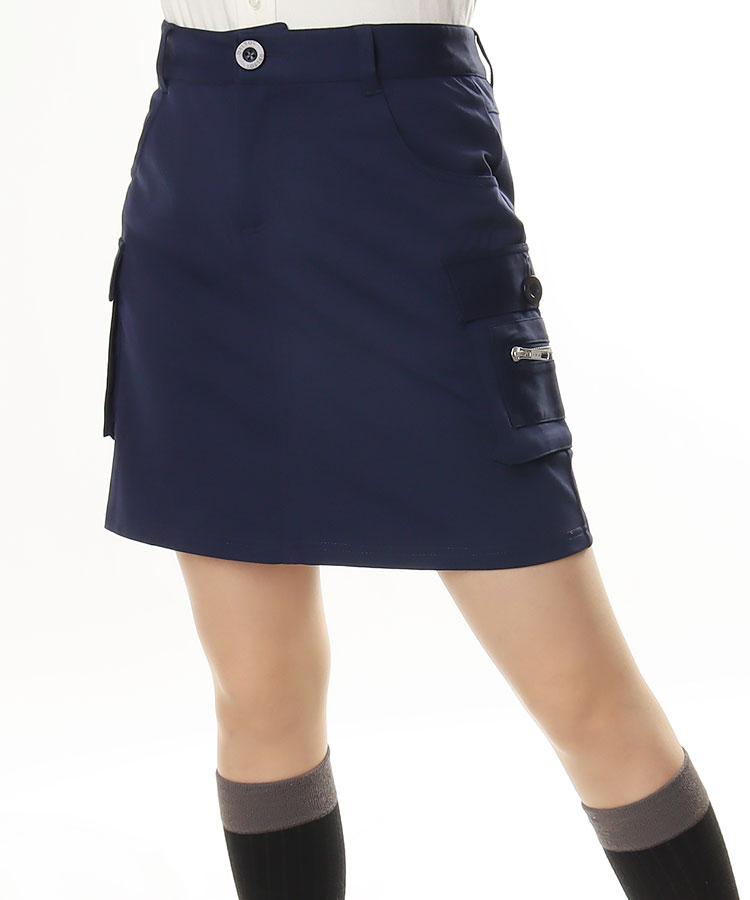 DL カーゴZIP★ストレッチスカート