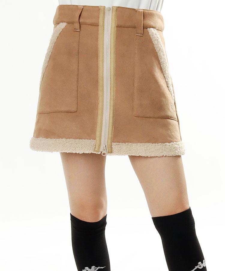 FG ムートン調★スカート