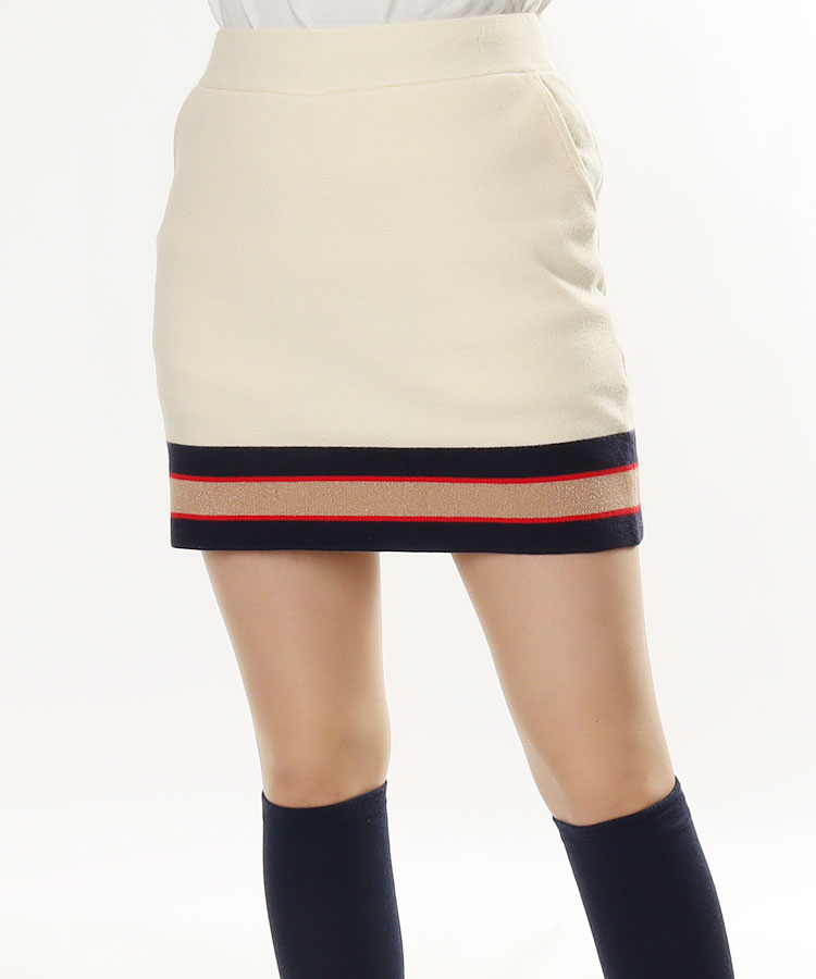 SD 裾ライン◆ニットスカート