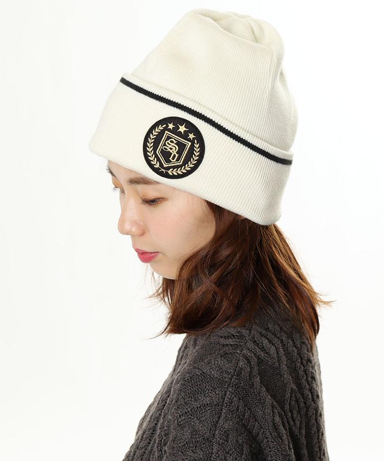SD サイドロゴ◆ニット帽