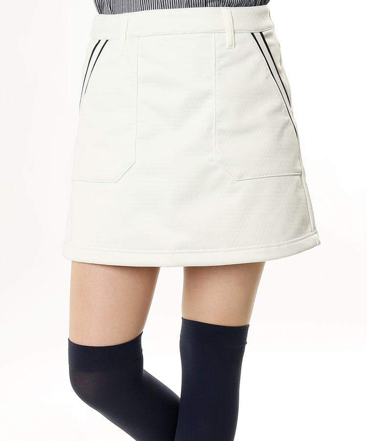 JB ポケットLINE◆一体ペチ付きスカート