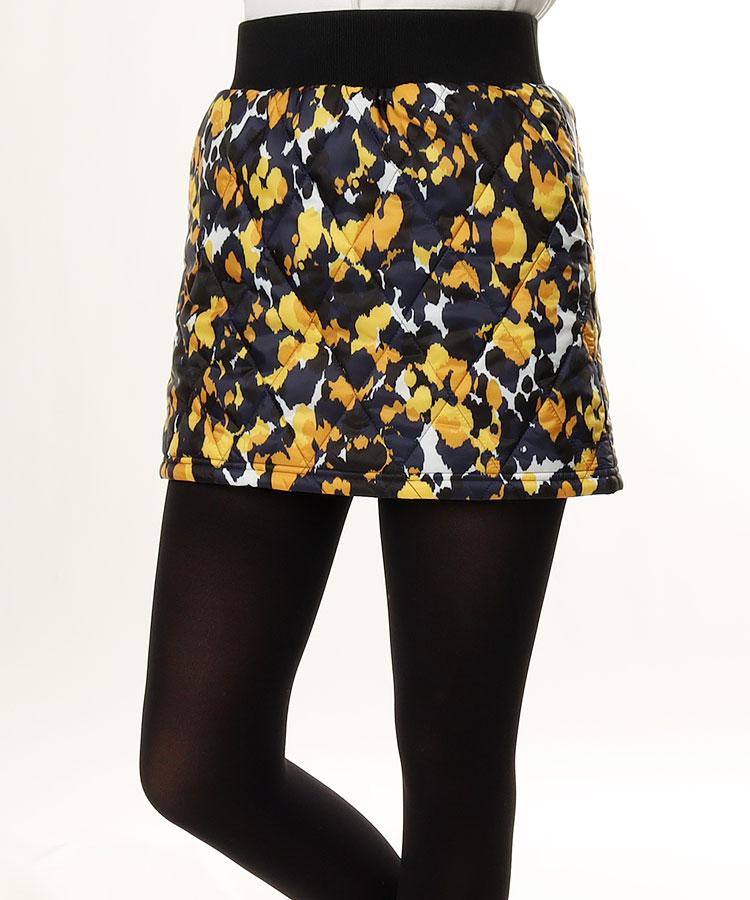 SD グラフィック柄キルティングスカート