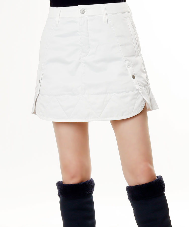 JB TUFLEX♪裾フリル光沢スカート