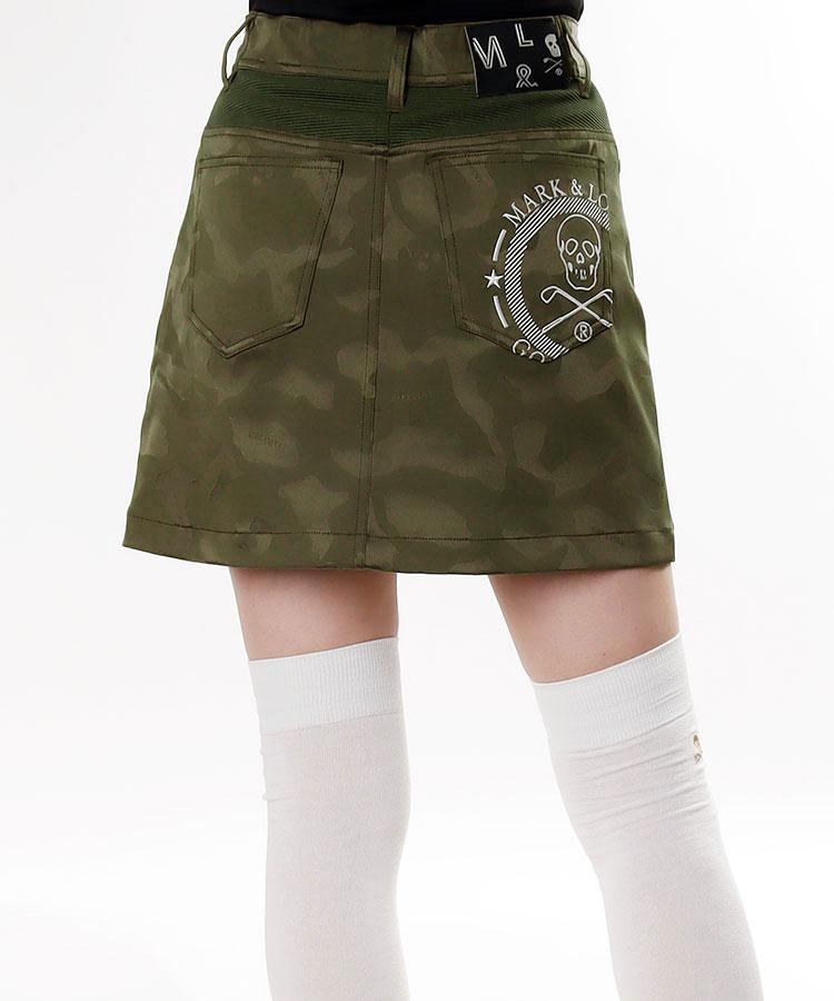 ML カモフラPrint★サテンスカート