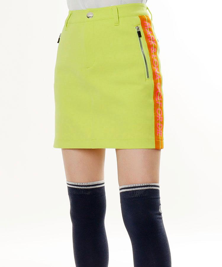 ML 一体型ペチ★サイドロゴLINEスカート