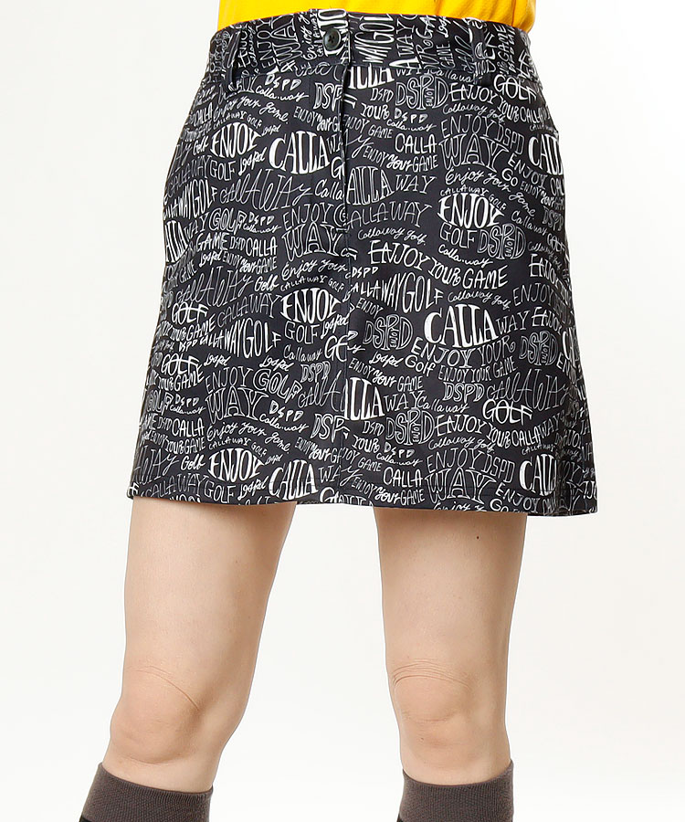 CA 英字Print★スカート