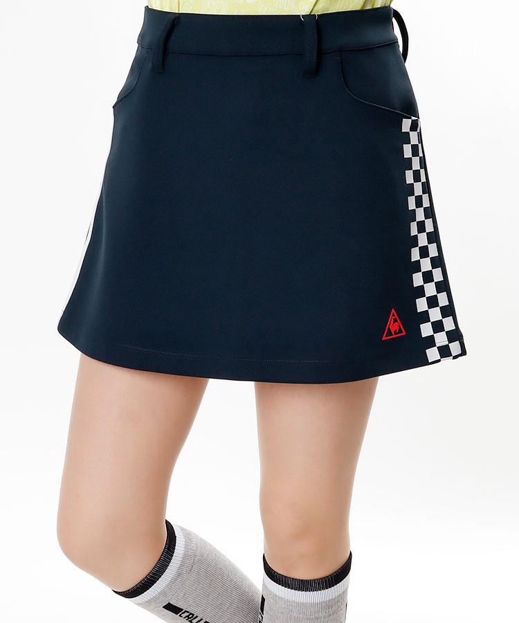LQ 市松LINE◆ダンボールスカート
